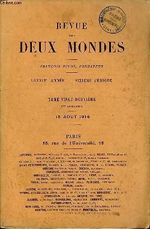 REVUE DES DEUX MONDES LXXXIVe ANNEE N°4 - I. — LES VESTALES, dernière partie, par Louis ...