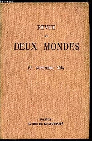 REVUE DES DEUX MONDES LXXXIVe ANNEE N°1 - I.-A NOS LECTEURS.II.—LA CATHÉDRALE DE REIMS, ...