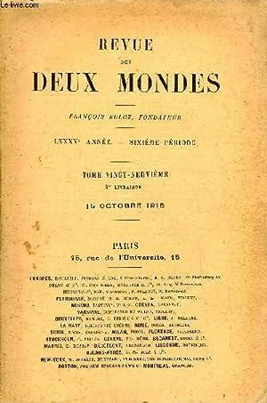 REVUE DES DEUX MONDES LXXXVe ANNEE N°4 -I.— JEUNE FILLE, troisième partie, par Gé...