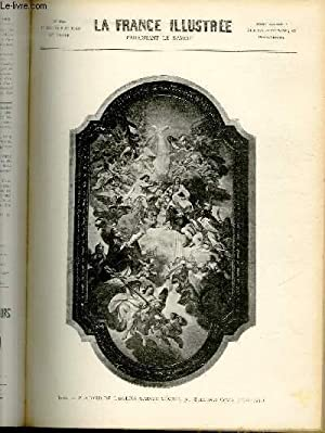LA FRANCE ILLUSTREE N° 1355 - Rome, Plafond de l'église Sainte Cécile, par Sebastiano Conca (...