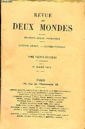 REVUE DES DEUX MONDES LXXXVIIe ANNEE N°2 - I.- L'ÉPOPÉE SERBE DANS SES CHANTS H&...
