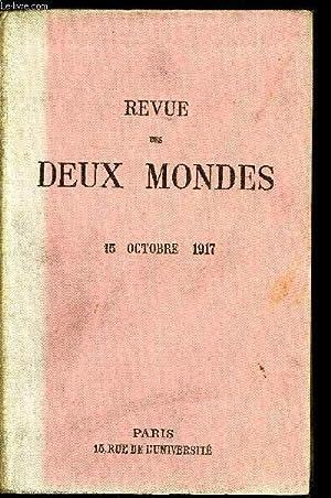 REVUE DES DEUX MONDES LXXXVIIe ANNEE N°4: COLLECTIF