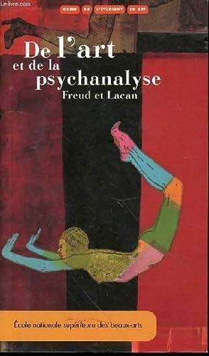 GUIDE DE L'ETUDIANT EN ART : DE L'ART ET DE LA PSYCHANALYSE (FREUD ET LACAN).: THIS CLADE