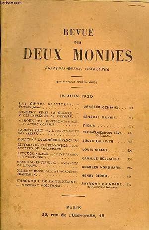 REVUE DES DEUX MONDES XCe ANNEE N°4 - LES CŒURS GRAVITENT. - Première partie. ...