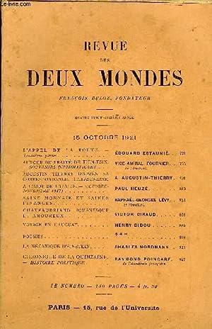 REVUE DES DEUX MONDES XCIe ANNEE N°4: COLLECTIF
