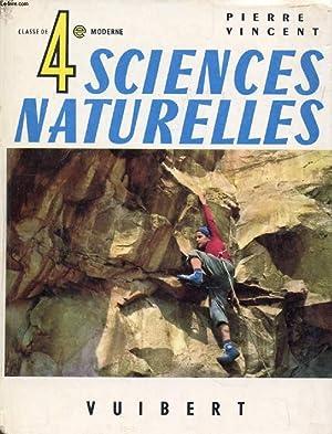 SCIENCES NATURELLES, CLASSE DE 4e MODERNE: VINCENT PIERRE