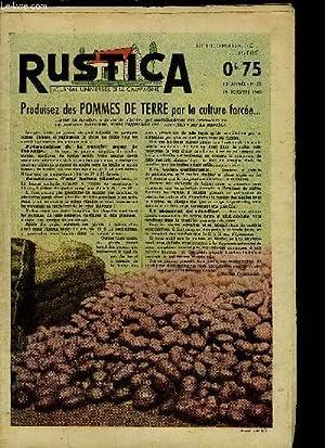 RUSTICA - JOURNAL UNIVERSEL DE LA CAMPAGNE: COLLECTIF