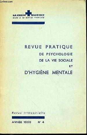LA CROIX MARINE N°4 : REVUE PRATIQUE DE PSYCHOLOGIE, DE LA VIE SOCIALE ET D'HYGIENE ...