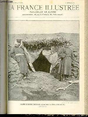 LA FRANCE ILLUSTREE N° 1578 - Poste d'hiver japonais, creusé dans le flanc d'...