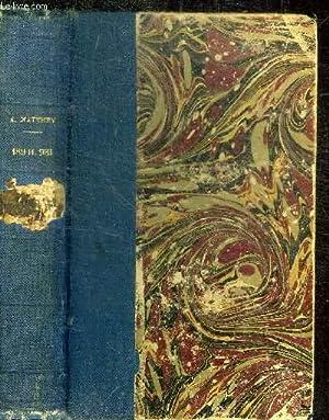 189.H.981 - SUITE ET FIN DE BILLET DE MILLE: MATTHEY A. (ARTHUR ARNOULD)