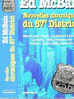NOUVELLES CHRONIQUES DU 87 EME DISTRICT -: MCBAIN ED