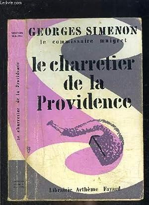 LE CHARRETIER DE LA PROVINDENCE: SIMENON GEORGES