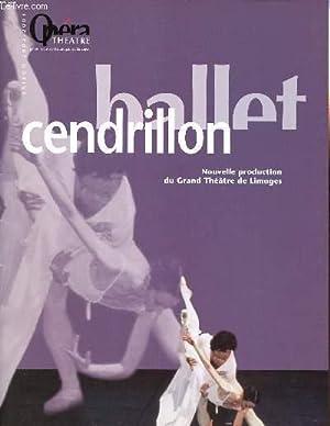 PLAQUETTE - BALLET CENDRILLON - NOUVELLE PRODUCTION: COLLECTIF