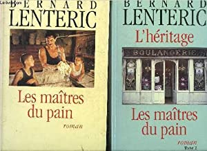LES MAITRES DU PAIN - EN DEUX TOMES - TOMES 1 + 2 - ROMAN.: LENTERIC BERNARD