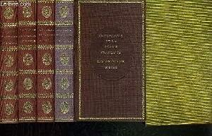 ANTHOLOGIE DE LA POESIE FRANCAISE EN 4 VOLUMES. 16e, 17e, 18e et 19e siecles).: SCHUWER / ROCHE D. ...