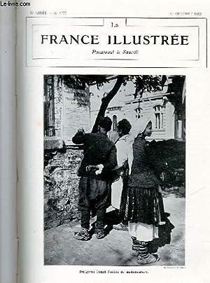LA FRANCE ILLUSTREE N° 1977 - Bulgares lisant l'ordre de mobilisation.: COLLECTIF