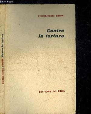 CONTRE LA TORTURE: SIMON PIERRE-HENRI