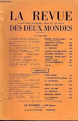 LA REVUE LITTERATURE, HISTOIRE, ARTS ET SCIENCES DES DEUX MONDES N°11 - ATTAQUES CONTRE ...