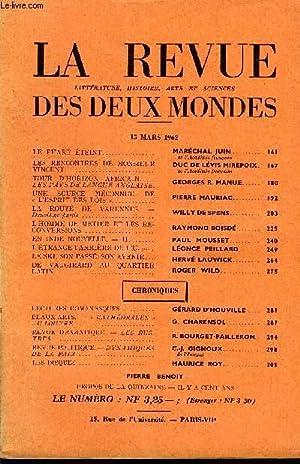 LA REVUE LITTERATURE, HISTOIRE, ARTS ET SCIENCES DES DEUX MONDES N°6 - LE PHARE ÉTEINT. ...