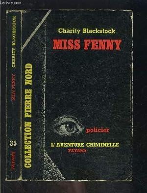 MISS FENNY: BLACKSTOCK CHARITY.