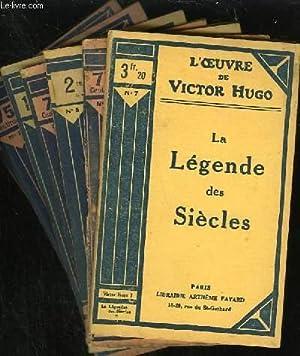 LA LEGENDE DES SIECLES - N° 1 à 10: VICTOR HUGO