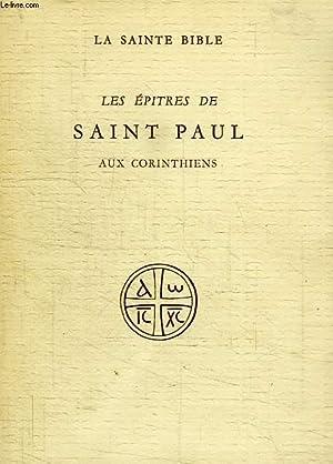 LES EPITRES DE SAINT PAUL AUX CORINTHIENS: COLLECTIF