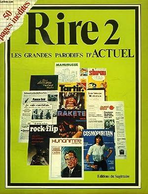 RIRE 2, LES GRANDES PARODIES D'ACTUEL: COLLECTIF
