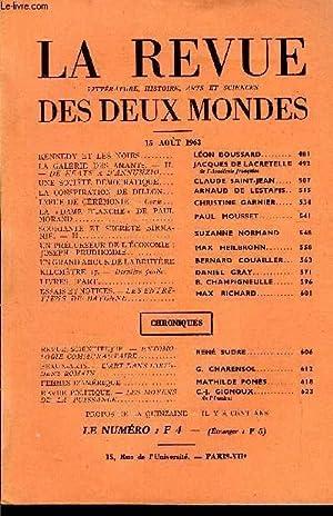 LA REVUE LITTERATURE, HISTOIRE, ARTS ET SCIENCES DES DEUX MONDES N°16 - KENNEDY ET LES NOIRS. ...