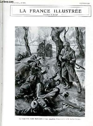 LA FRANCE ILLUSTREE N° 2095 - La rencontre d'une moto-mitrailleuse anglaise, Composition de ...