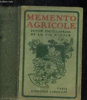 MEMENTO AGRICOLE LAROUSSE Agrologie - engrais -: COLLECTIF