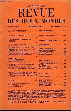 LA NOUVELLE REVUE DES DEUX MONDES N°2: COLLECTIF