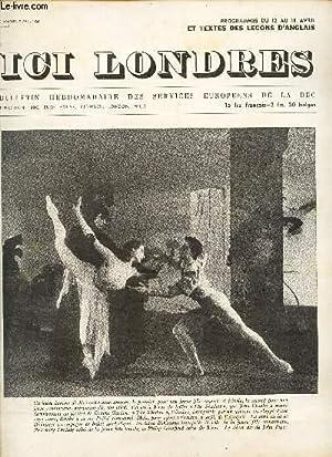 ICI LONDRES - N°270 - 2 avril 1953 - LE TORTILLARD DEVEINT VEDETTE / PROPOS DE LONDRES .: ...