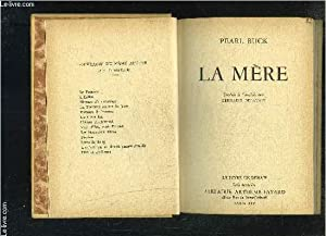 LA MERE- LE LIVRE DE DEMAIN- SERIE ETRANGERE: BUCK PEARL S.