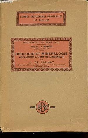 TRAITE DE GEOLOGIE ET DE MINERALOGIE APPLIQUEES: DE LAUNAY L.