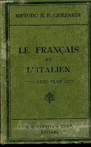 LE FRANCAIS ET L'ITALIEN- AVEC CLEF -: GENZARDI N. E.