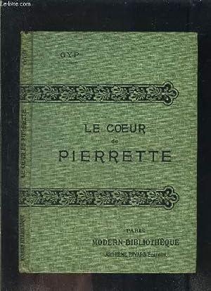 LE COEUR DE PIERRETTE- COLLECTION MODERN-BIBLIOTHEQUE: GYP
