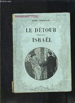 LE DETOUR- ISRAEL- MODERN-THEATRE N°XXVI: BERNSTEIN HENRY
