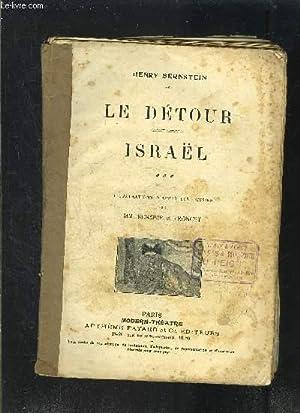 LE DETOUR- ISRAEL- MODERN-THEATRE N°XXVI- VENDU EN: BERNSTEIN HENRY