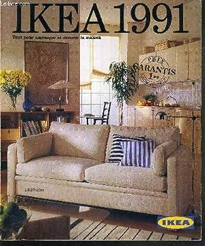 IKEA 1991 / tout pour amenager la: COLLECTIF