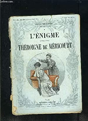 L ENIGME- THEROIGNE DE MERICOURT- MODERN-THEATRE- VENDU: HERVIEU PAUL.