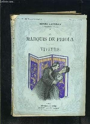 LE MARQUIS DE PRIOLA- VIVEURS - MODERN-THEATRE: LAVEDAN HENRI