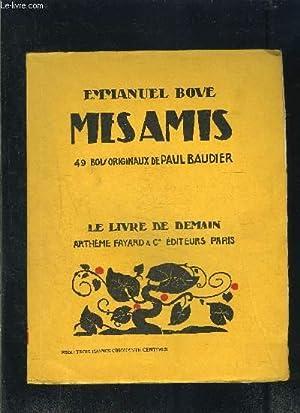 MES AMIS- LE LIVRE DE DEMAIN N°113: BOVE EMMANUEL
