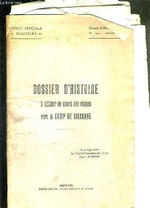 LOT DE NOMBREUSES CARTES ET COURS D'HISTOIRE - DOSSIER D'HISTOIRE A UTILISER AU COURS DES...