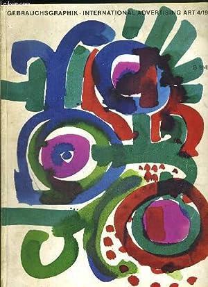GEBRAUCHSGRAPHIK INTERNATIONAL ADVERTISING ART- N°4 /1964 - B3149 E / affiches de ...
