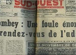 SUD OUEST GRAND QUOTIDIEN REPUBLICAIN REGIONAL D'INFORMATIONS N°8151 12 NOV. 1970 - ...