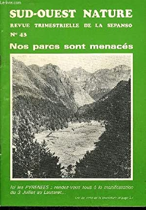 SUD OUEST NATURE N°43 JUIN 1983 -: COLLECTIF