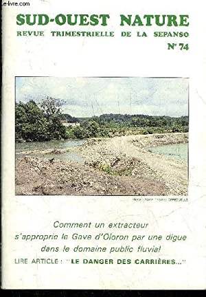 SUD OUEST NATURE N°74 SEPTEMBRE 1991 -: COLLECTIF