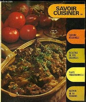 SUPPLEMENT SAVOIR CUISINER 30 / cuisine régionale: COLLECTIF