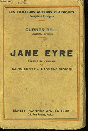 JANE EYRE.: BELL CURRER (