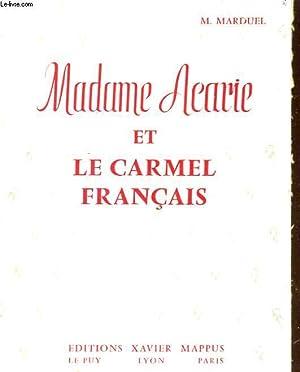 MADAME ACARIE ET LE CARMEL FRANCAIS: M. MARDUEL